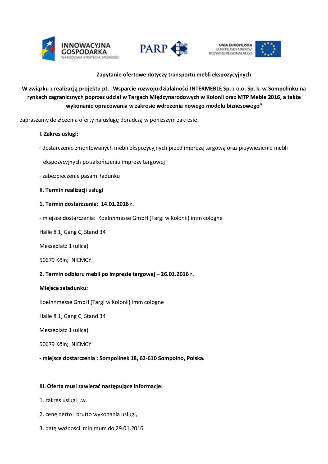zapytanie ofertowe transport Kolonia 2016 meble ekspozycyjne-page-001